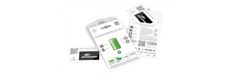 Nanotech Battery Life Foil - double package