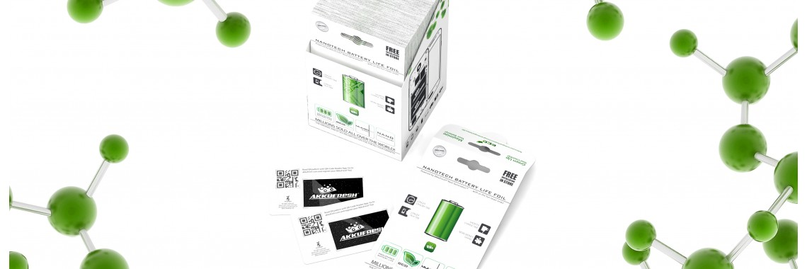 AkkuFresh® - Nanotech Battery Life Foil - small business eco 100
