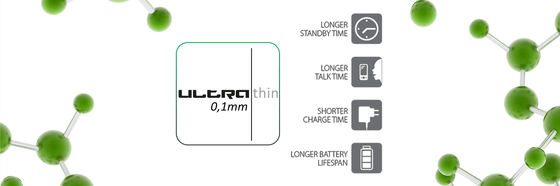 AkkuFresh® - Nanotech Battery Life Foil - ultra thin