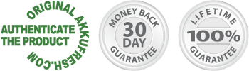 AkkuFresh® 30 days money back guarantee & lifetime replacement warranty